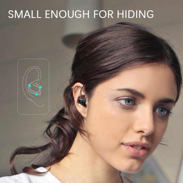 Q3 Wireless Mini Bluetooth Earbud Single Ear Bluetooth In-ear Headphone