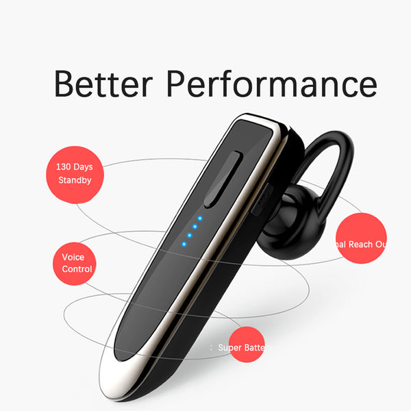 K23 Business Wireless Bluetooth Headset Super Long Standby 5.0 Earbud