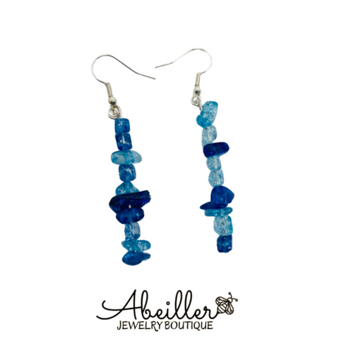 Blue Sea Earrings - Abeiller