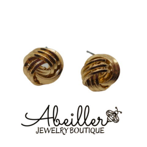 Classic Gold Earrings - Abeiller