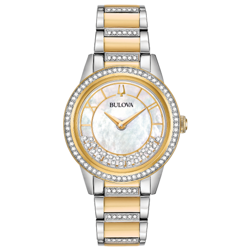 98L245 WOMEN'S CRYSTAL TURNSTYLE WATCH