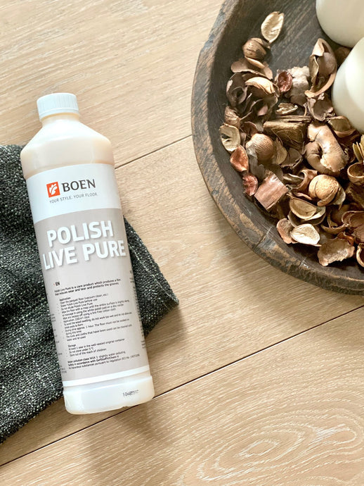 BOEN Polish for Live Pure Floor