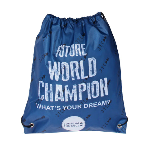 "Back to school backpack ""World champion"""