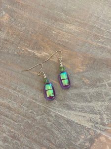 MH Glass Dangle Earring