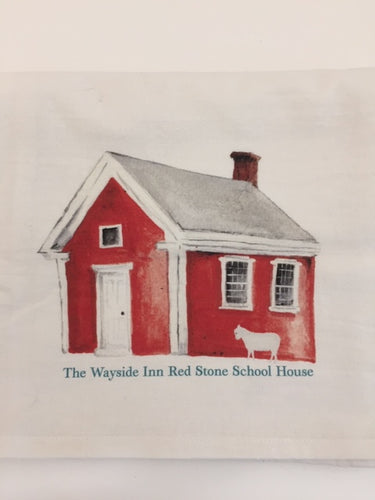 Flour Sack Towel Redstone School House