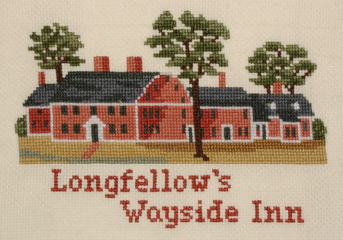 Counted Cross Stitch Kit The Wayside Inn