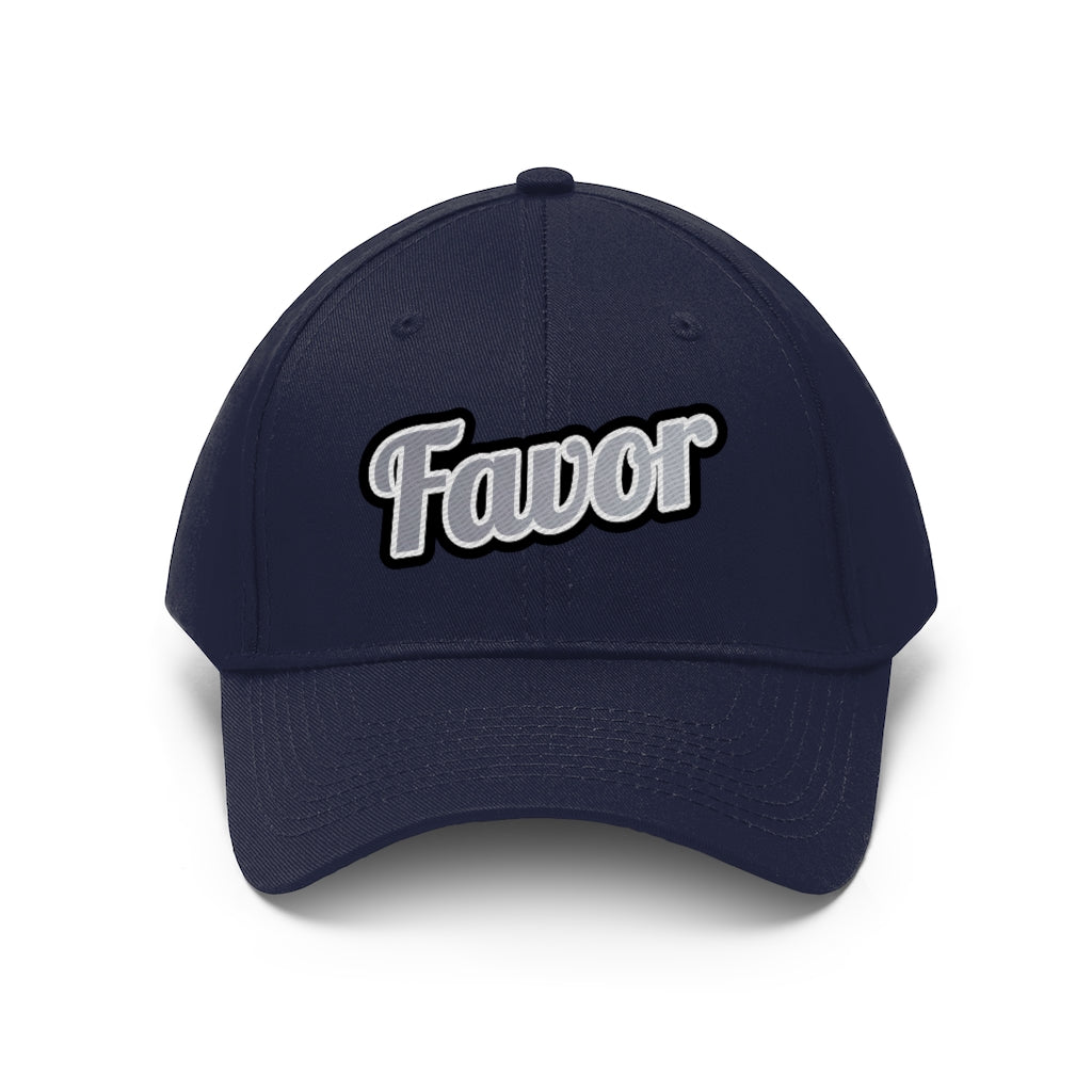 Unisex Favor Twill Hat/ 7 Colors