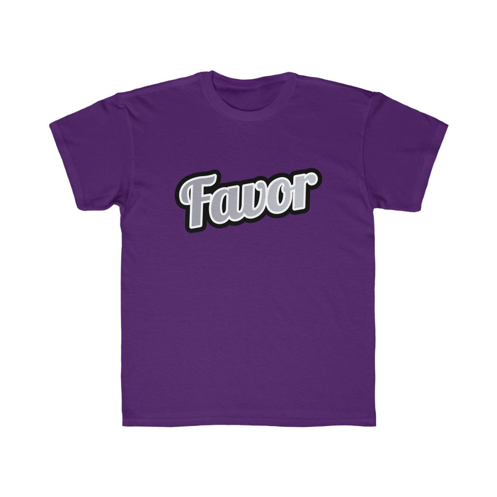 Kids Favor Regular Fit Tee/ 12 Colors