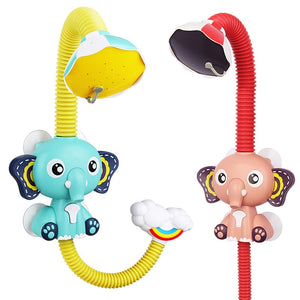 Electric Elephant Water Spray Bath Shower Toy