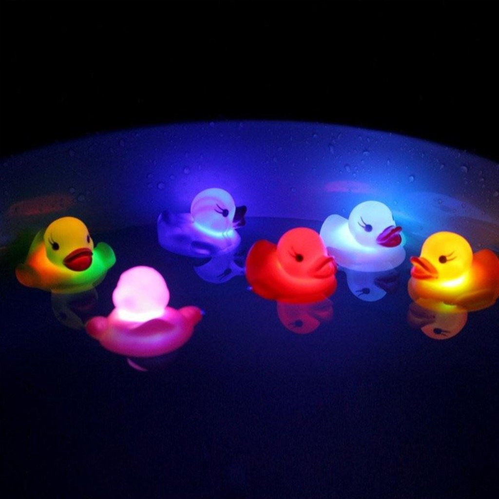 Lighting Up Bath Toys - Kids Love It!