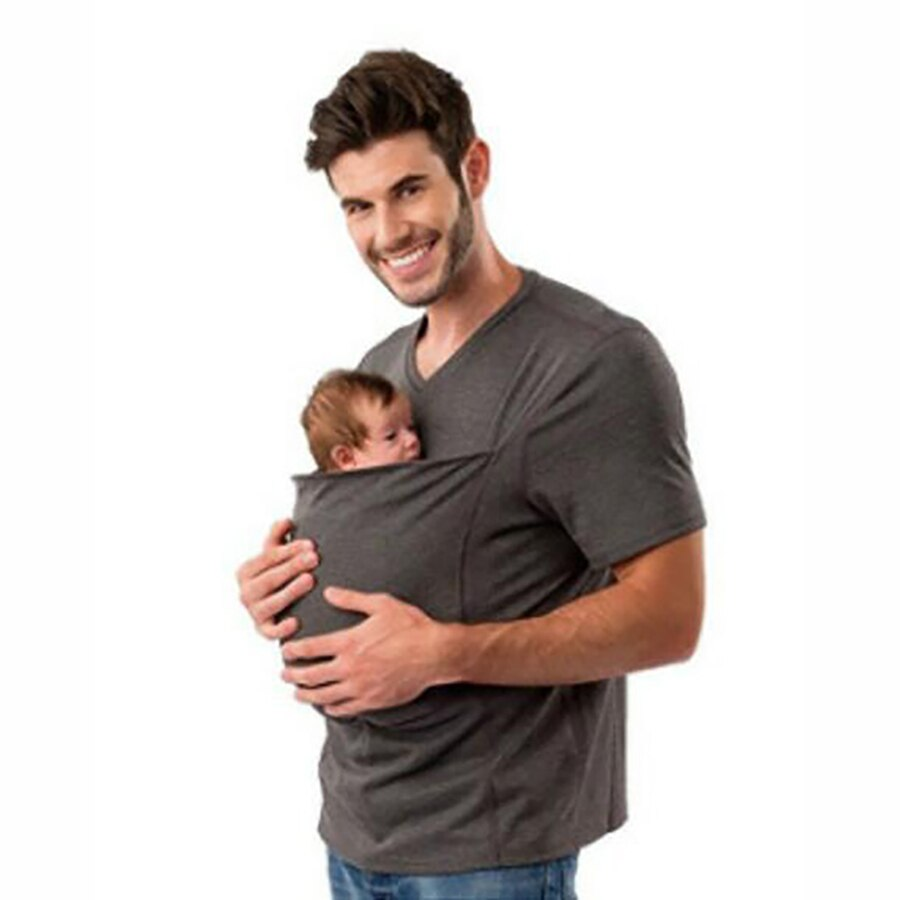 Baby Carrier Kangaroo Multifunction Tees for Mom Dad & Babies