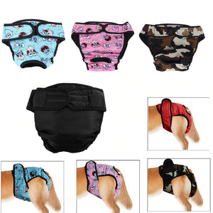 Washable Dog Underwear Briefs For Proper Hygiene