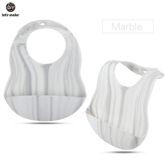 Silicone Bibs For Kids Newborn Baby Feeding Tableware