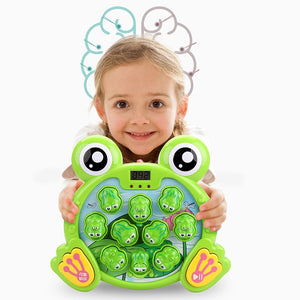 Musical Frog Toy Interesting Whacks Toys