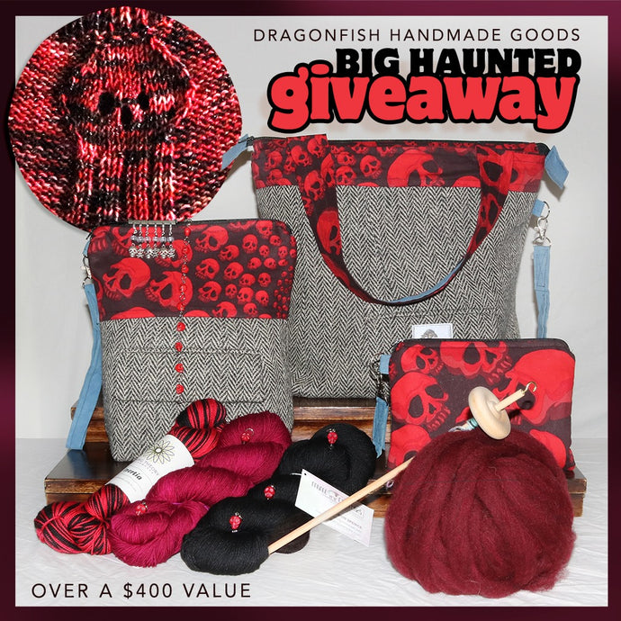 So, why The DFHG Big HAUNTED Giveaway?