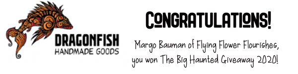 Congratulations to Margo Bauman Flying Flower Flourishes!