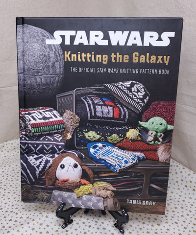 Tanis Gray, Knitting The Galaxy: The Official Star Wars Knitting Pattern Book , Star Wars, giveaway, win, pattern book, knit