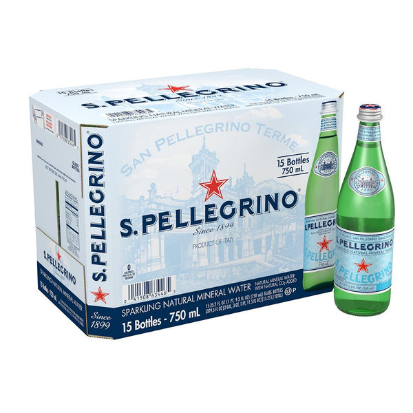 Water (Mineral) - San Pellegrino, Case (12x750ml)