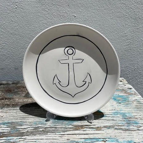 Plate with Anchor