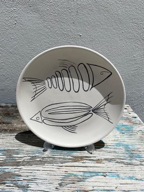 Plate with Fishes 2