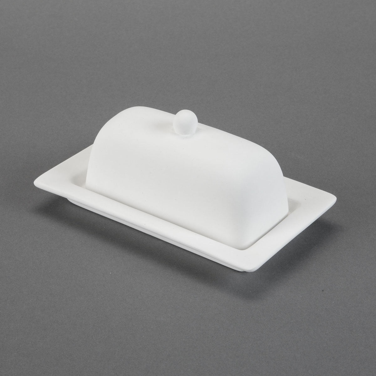 Rimmed Butter Dish Bisque