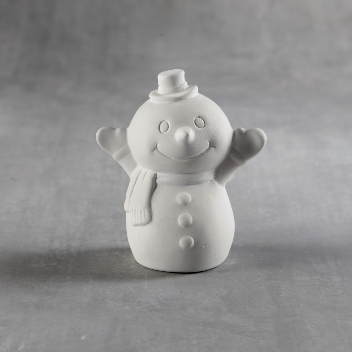 Tiny Tot Snowy the Snowman Bisque