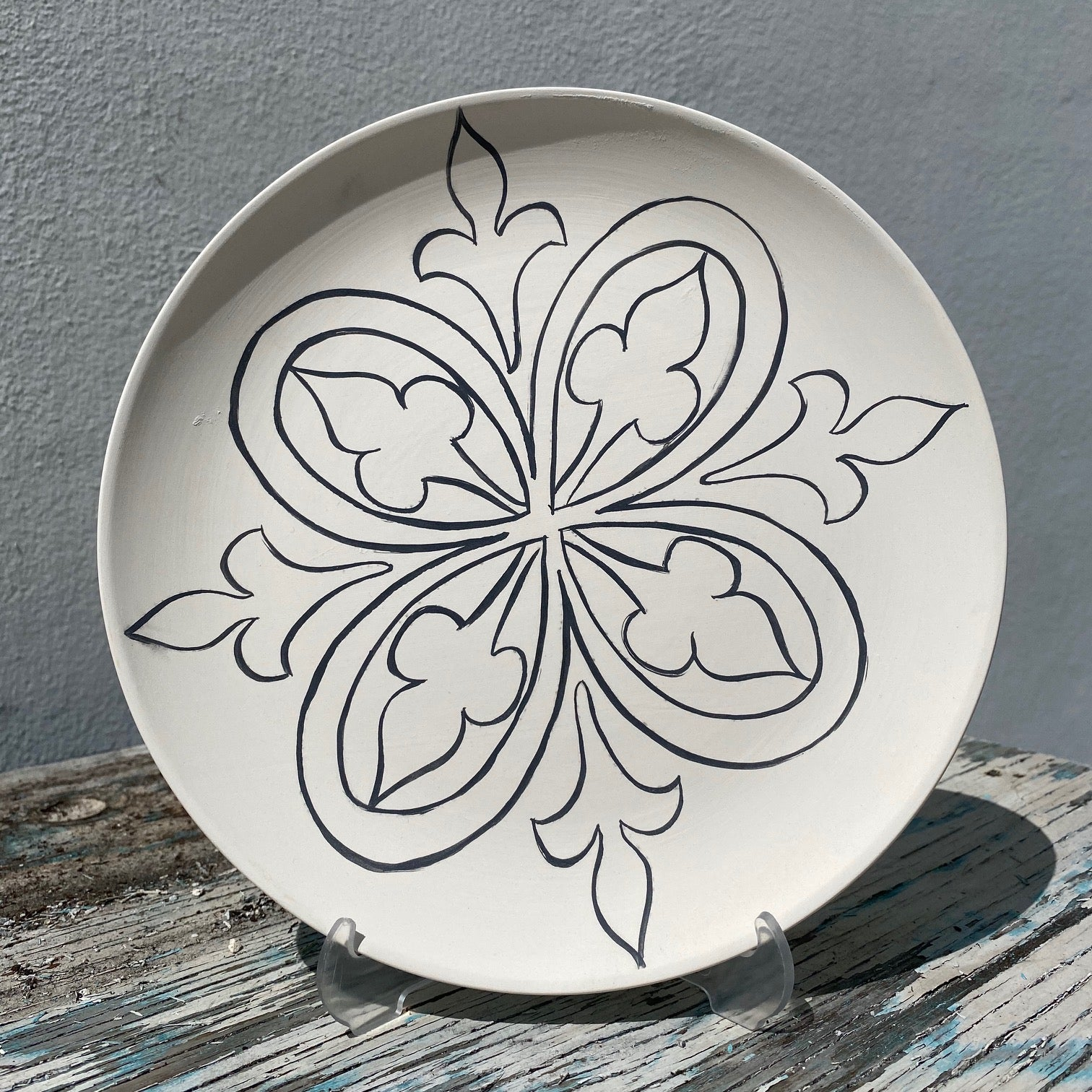 Plate with Design 4
