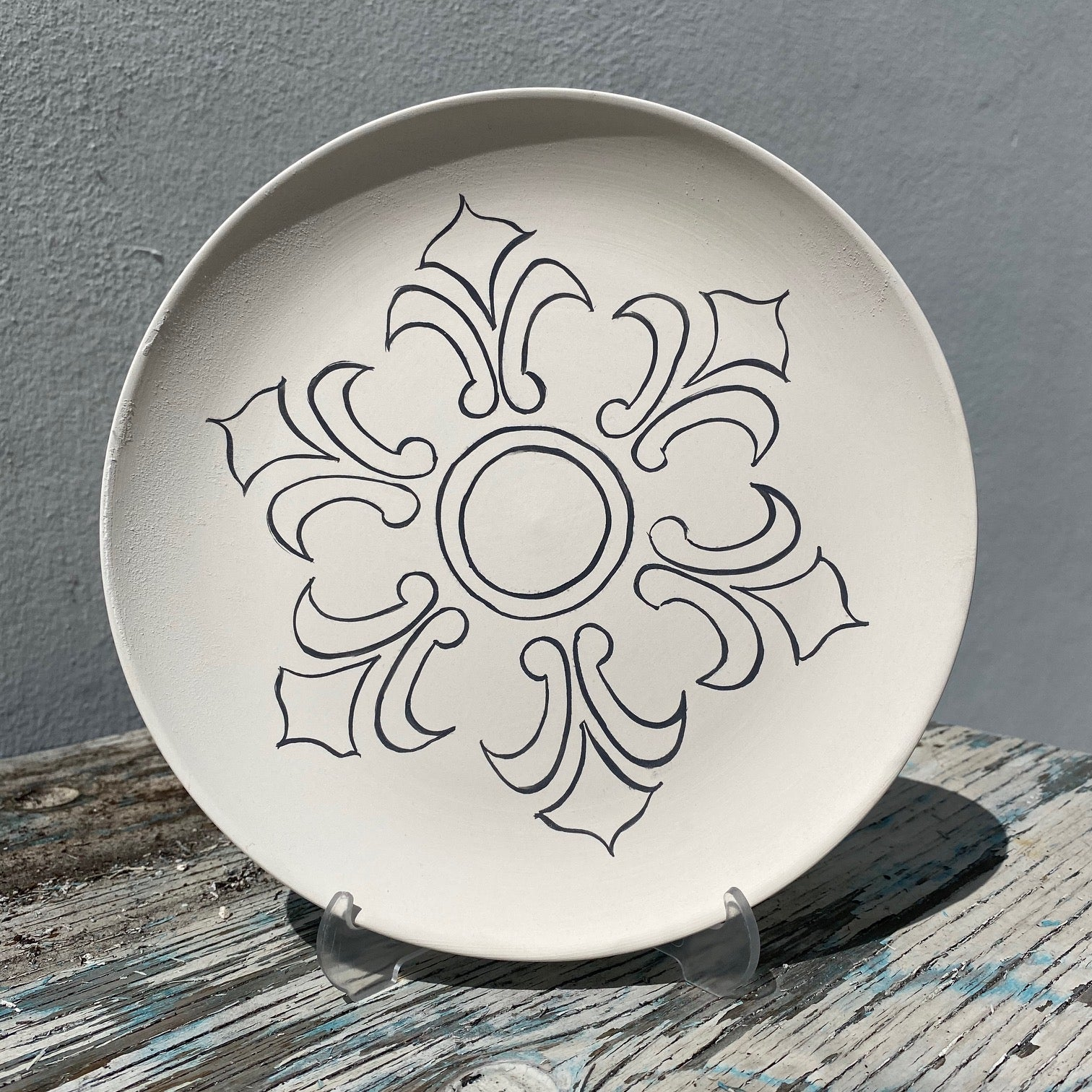 Plate with Design 2