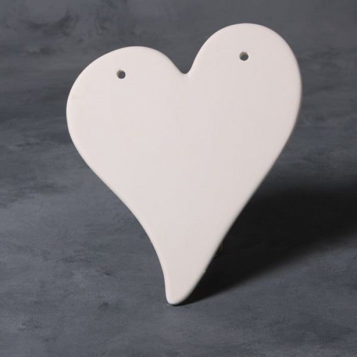 Heart Plaque Bisque
