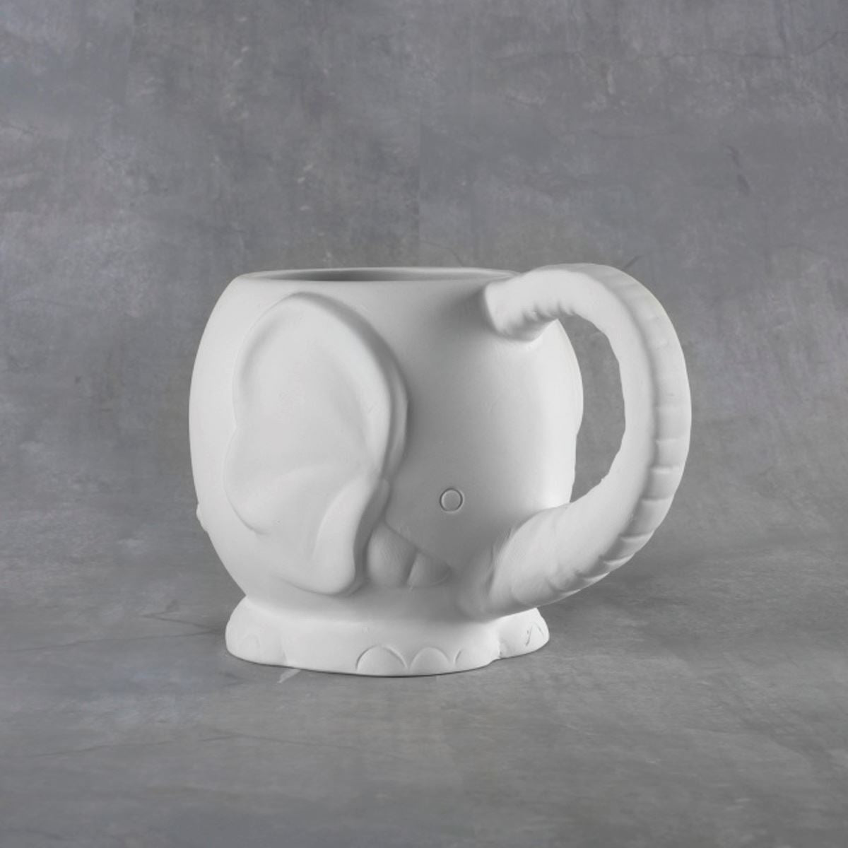 Elephant Mug 14 oz. Bisque