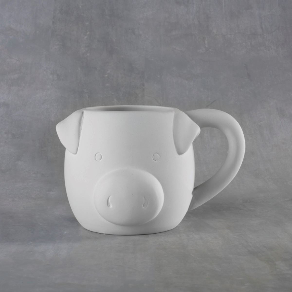 Pig Mug 16 oz. Bisque