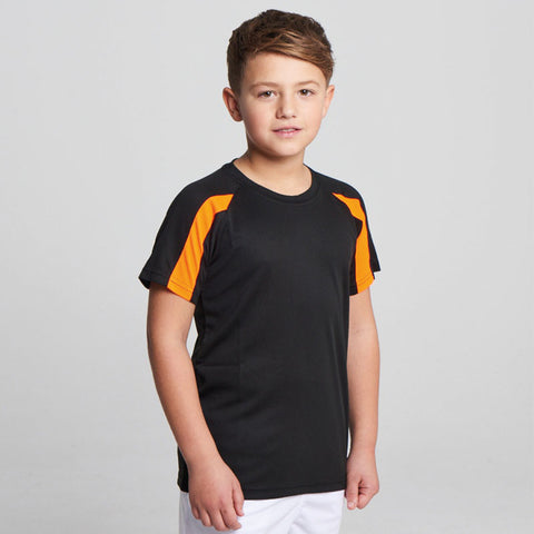 JC03J AWDis Kids Contrast Cool T