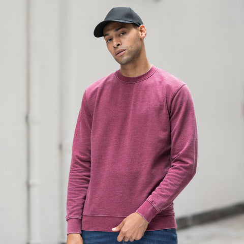 JH093 AWDis Washed Sweatshirt