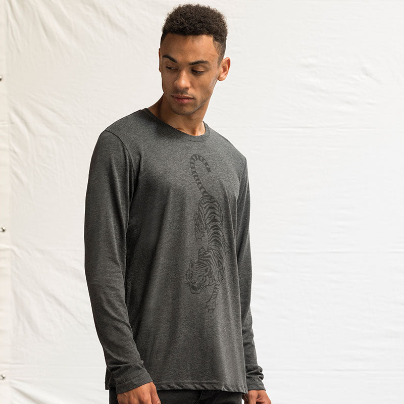 JT002 AWDis Triblend T Long Sleeve