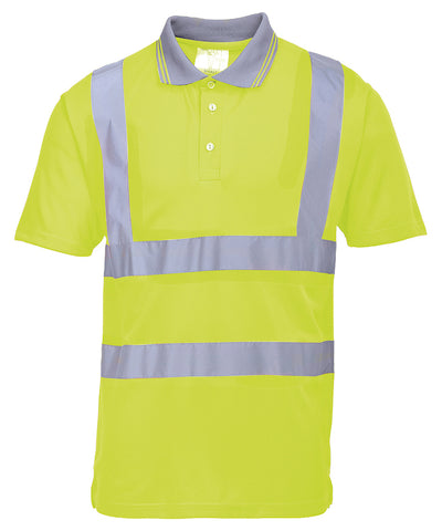 PW024 Portwest Hi-Vis Polo Shirt (S477/RT22)
