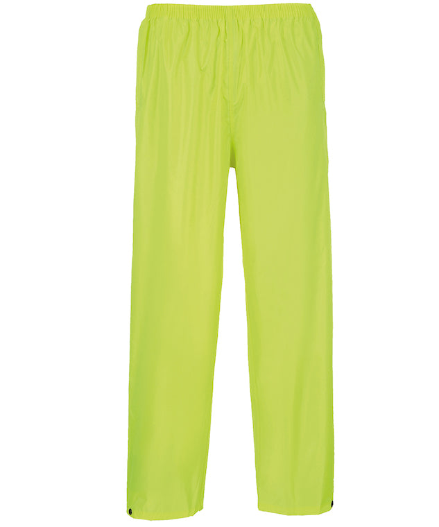 PW167 Portwest Classic Rain Trousers (S441)