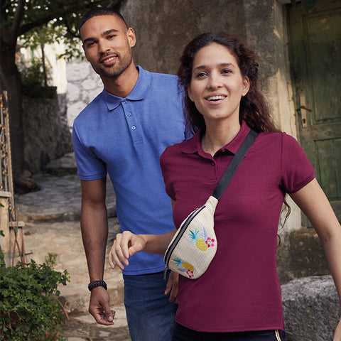 SS402 Fruit of the Loom 65/35 Polo 3XL - 5XL