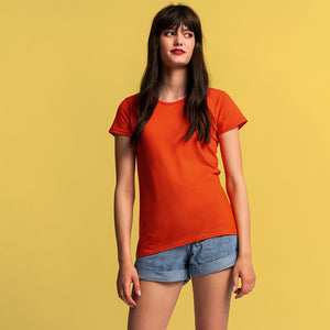 SS432 Fruit of the Loom Women's Iconic T S - L