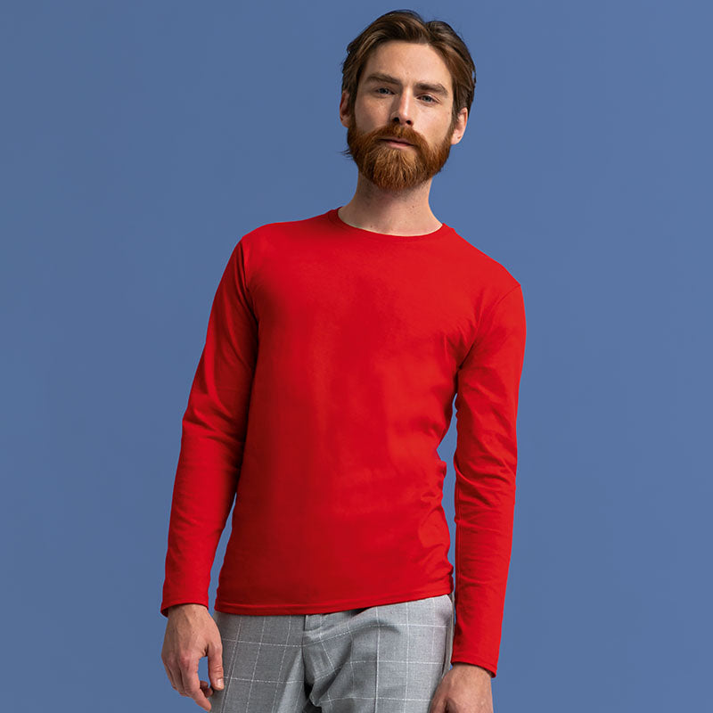 SS433 Fruit of the Loom Iconic 150 Classic Long Sleeve T