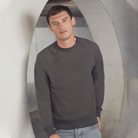 SS970 Fruit of the Loom Lightweight Raglan Sweatshirt