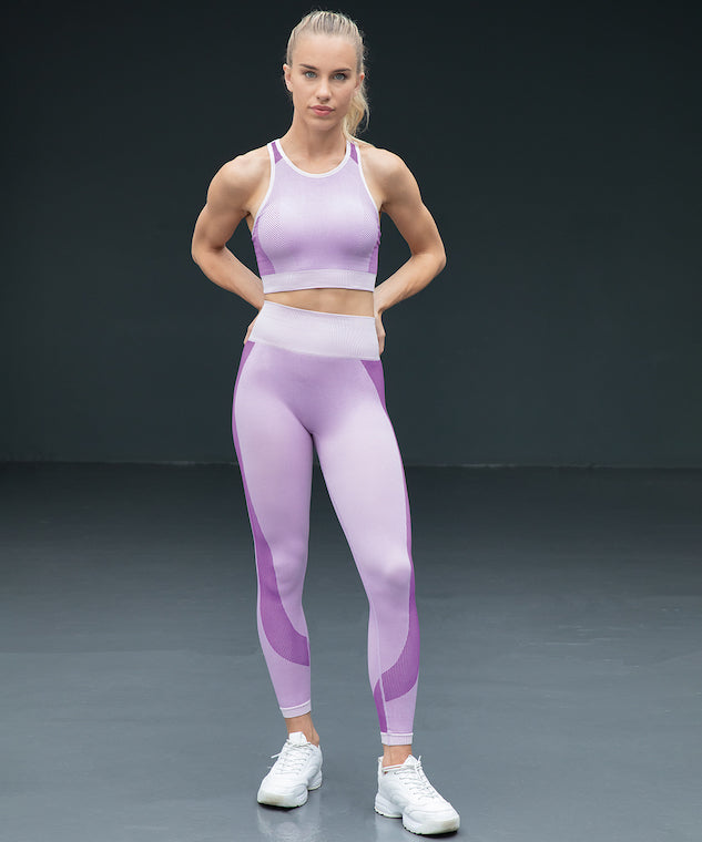 TL350 Tombo Women's Seamless Panelled Leggings