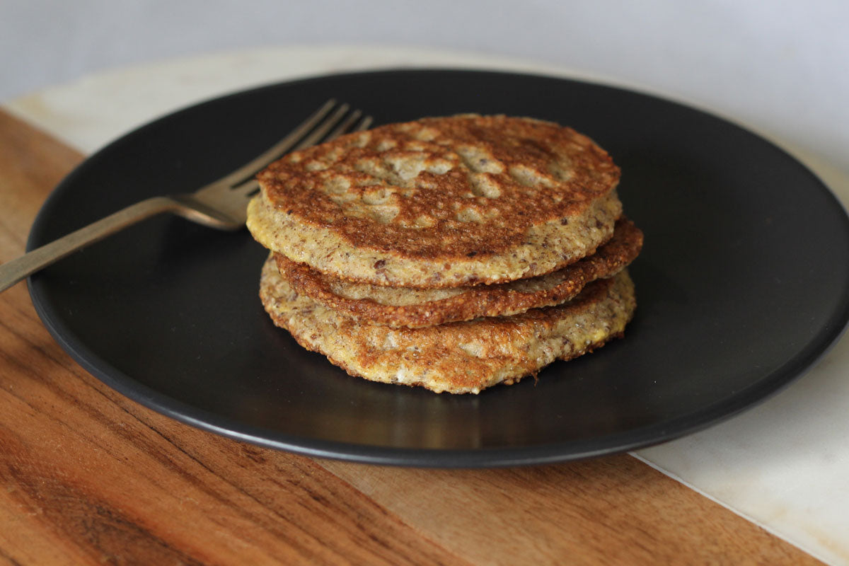 Almond meal flaxseed hotcakes