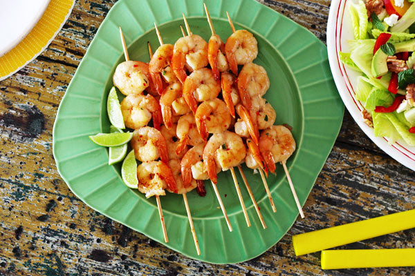 BBQ prawn recipe with coconut chilli