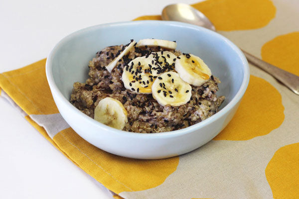 Coconut quinoa porridge recipe
