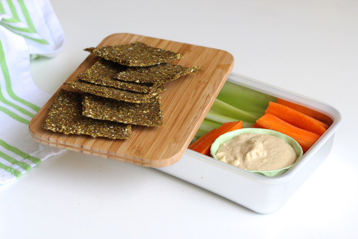 Raw crackers recipe
