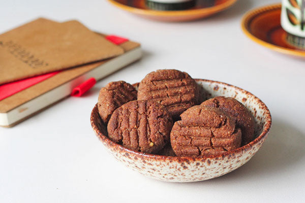 Ginger Cookies with Nut Butter and Teff Flour