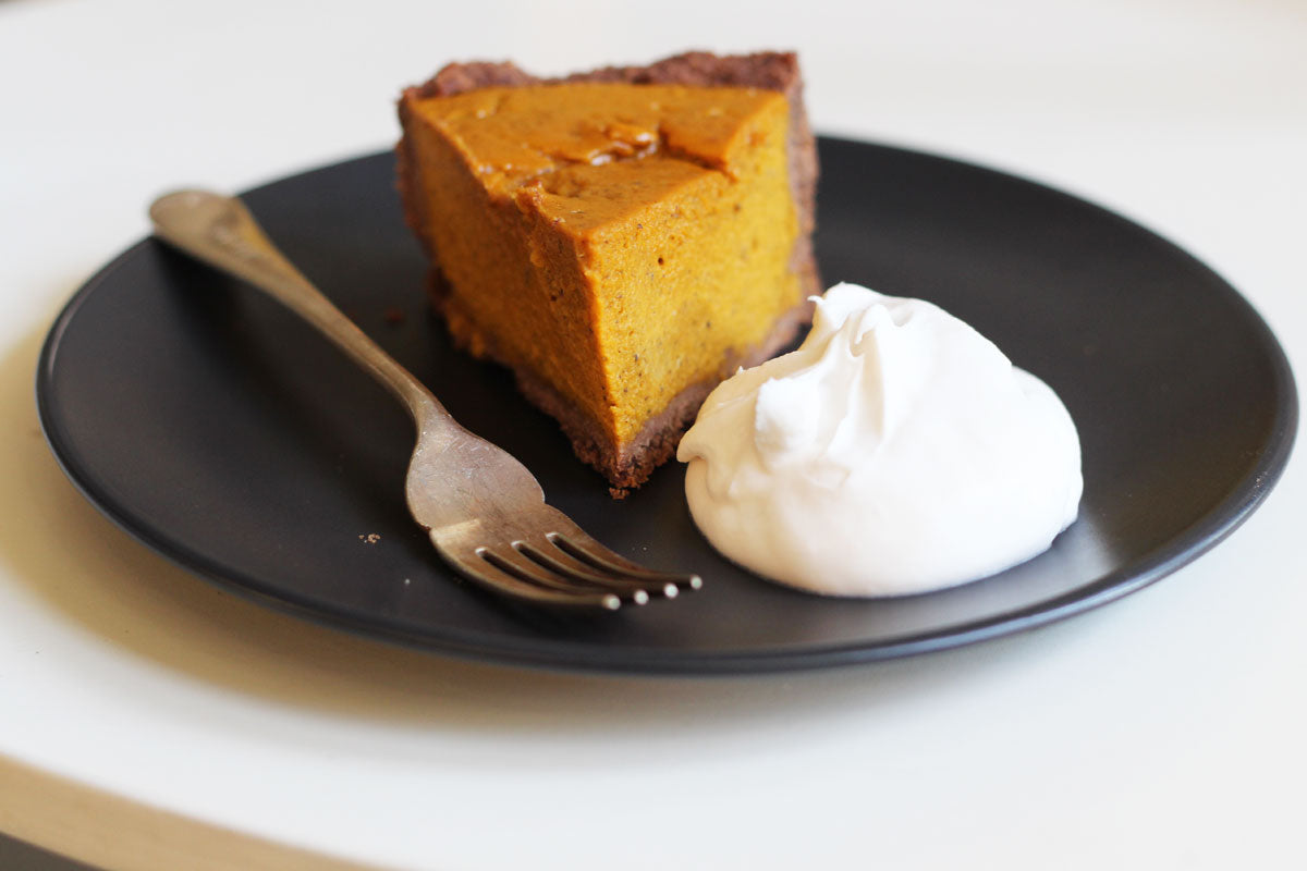 Winter Desserts Pumpkin Pie