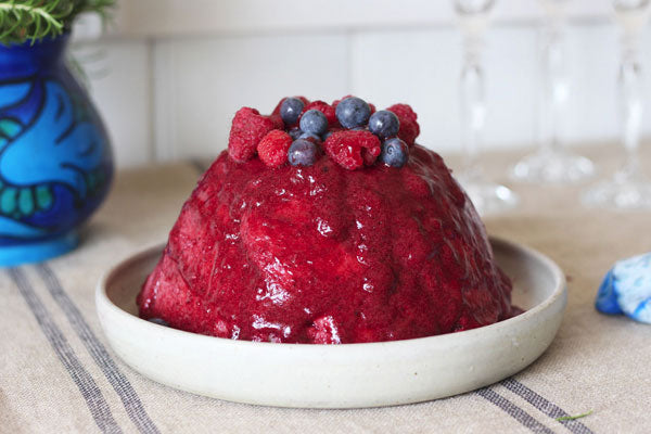 Gluten Free Summer Pudding