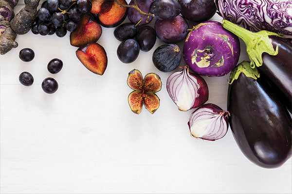 Health benefits purple foods