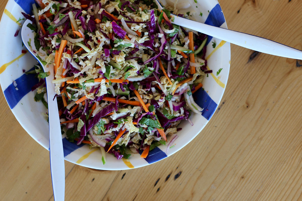 Healthy Asian Slaw